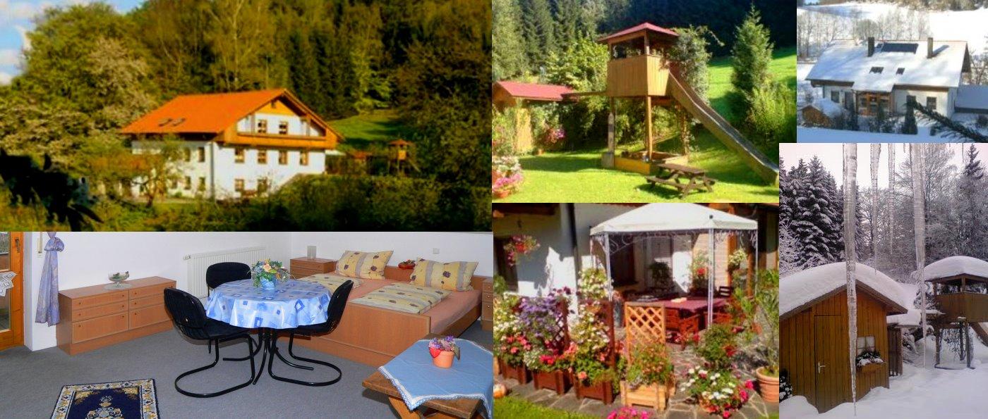 Bayerischer Wald Ferienwohnung in idyllischer Lage in Bayern