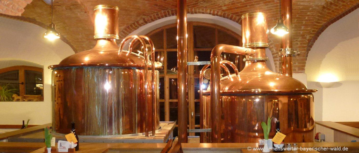 Bayerischer Wald Brauereigasthöfe in Oberpfalz & Niederbayern