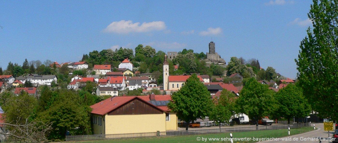 Brennberg Sehenswürdigkeiten vorderer-bayerischer-wald Ausflugsziele
