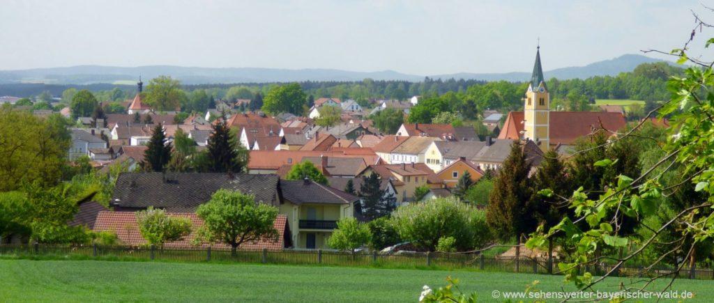 Sehenswürdigkeiten Bruck in der Oberpfalz Ausflugsziele und Ortsansicht