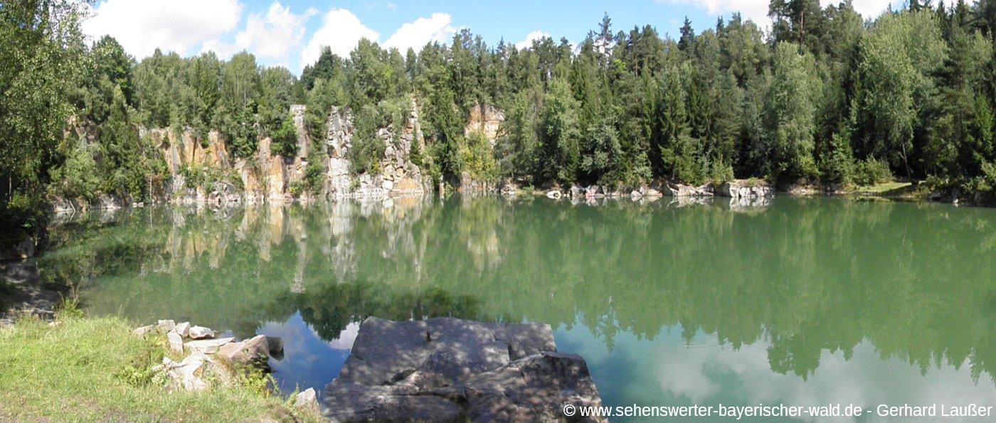 buechlberg-bayerischer-wald-steinbruch-see-ausflugsziele-panorama
