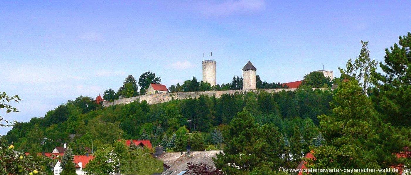 Burgbesichtigung in Burglengenfeld Burg Führungen in der Oberpfalz