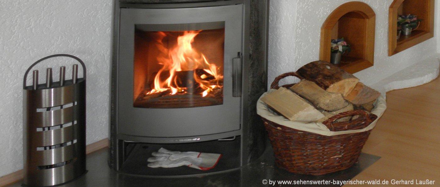 Originelle Hütte mieten mit Kamin & Sauna für Wochenende in Bayern