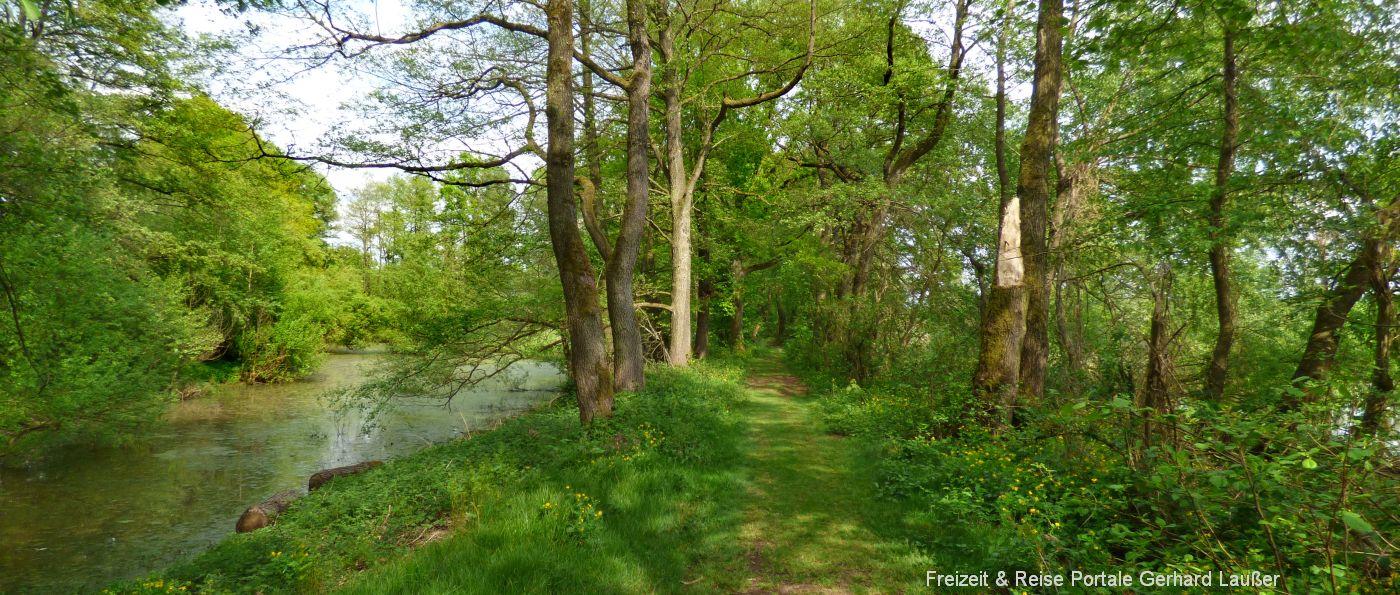 Rundweg Rötelseeweiher bei Cham Rundwanderwege im Naturschutzgebiet