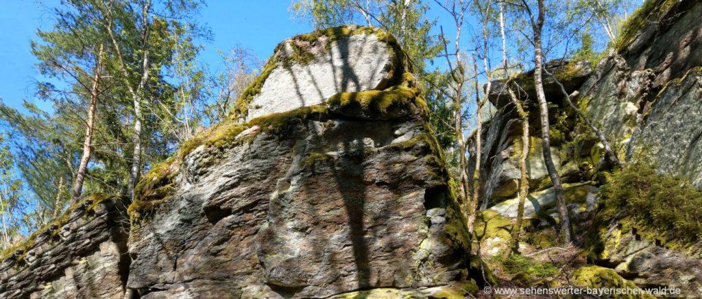 chamerau-steinernes-häusl-felsen-kraxeln-wanderung-rossberg