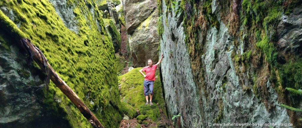 chamerau-steinernes-häusl-wanderwege-rossberg-felsen-klettern