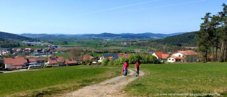 chamerau-wanderwege-rossberg-wandern-bayerischer-wald