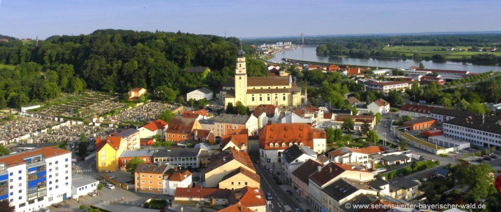 Ausflugsziele im Landkreis Deggendorf Sehenswürdigkeiten in Niederbayern