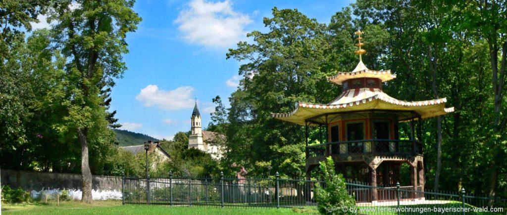 Sehenswürdigkeiten in Donaustauf Ausflugsziel Chinesischer Turm