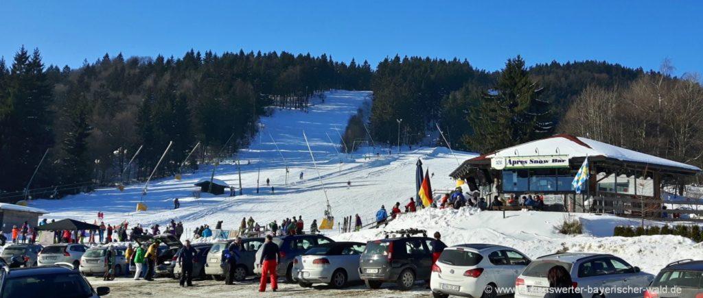 Winterurlaub im Bayerischen Wald Tipps für eine sichere Autoreise im Winter