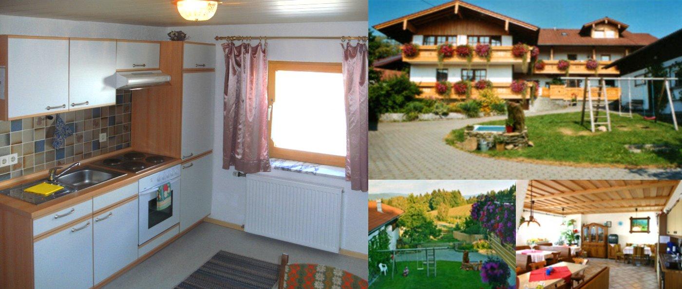 Bayerischer Wald Urlaub auf dem Bauernhof mit Frühstück Zimmer