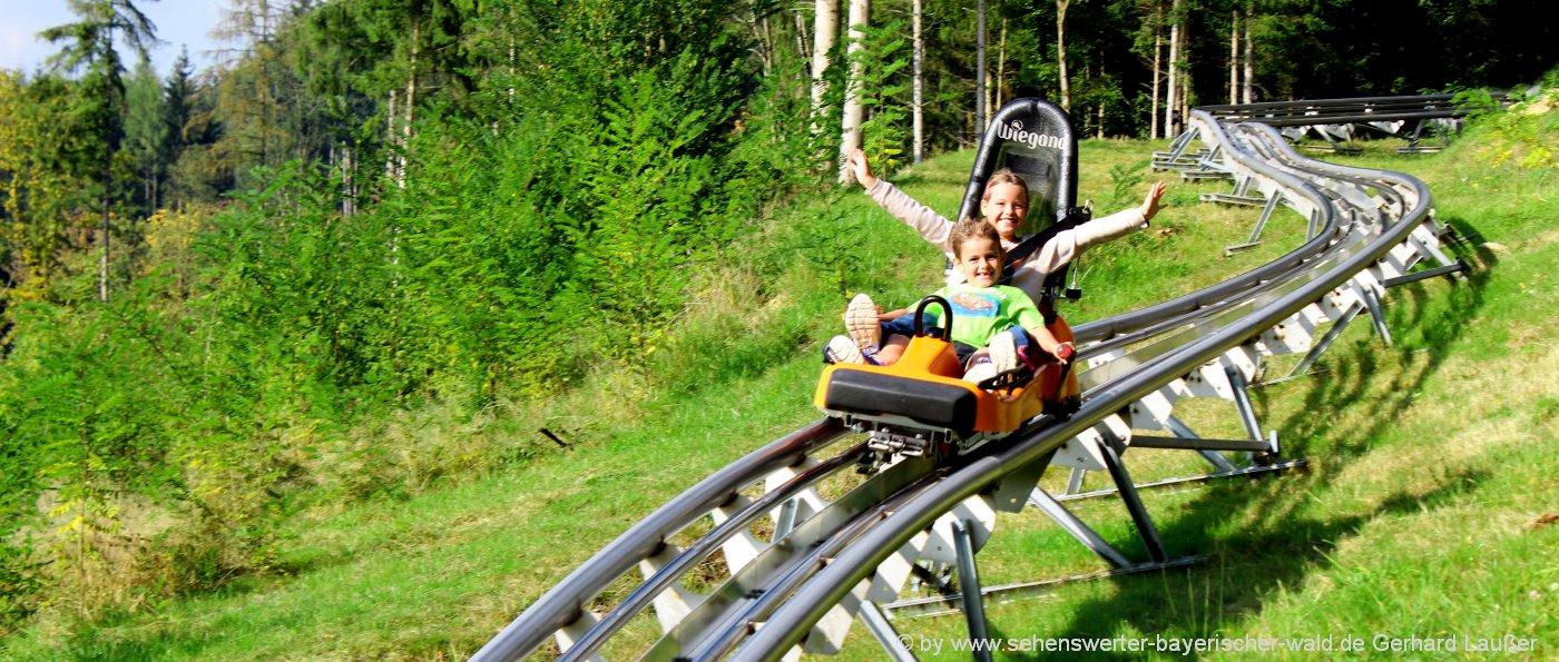 Freizeitpark in Edelwies Familien Erlebnispark in Neukirchen bei Bogen