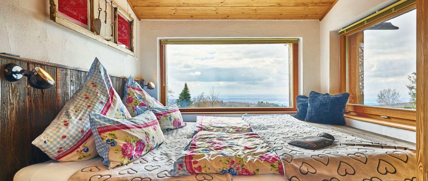 Romantische Hütte für 2 Personen im Bayerischen Wald mieten