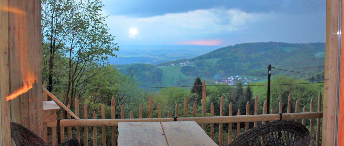 Ferienhaus am Brotjacklriegel Hütte Sonnenwald Bungalow
