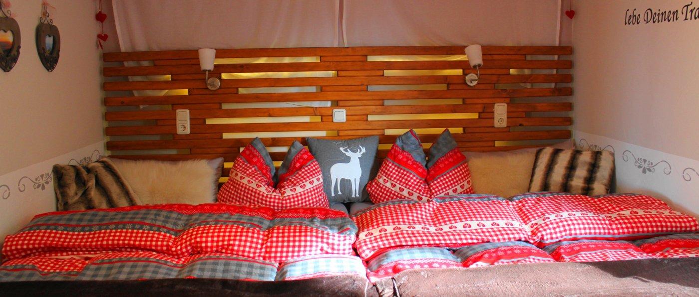 Berghütte in Alleinlage mieten - Romantikhütte für 2 Personen
