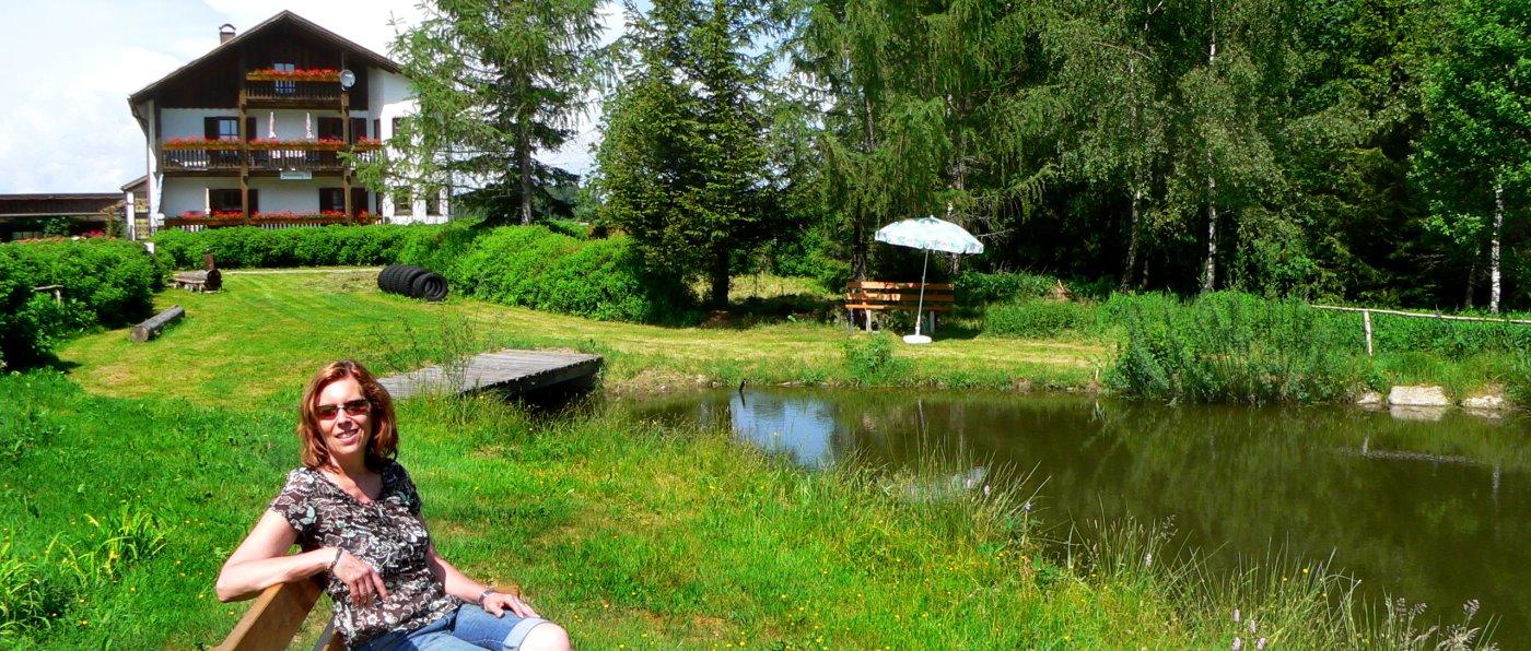 Ferienwohnung in Alleinlage in Bayern Unterkunft bei Kirchberg im Wald