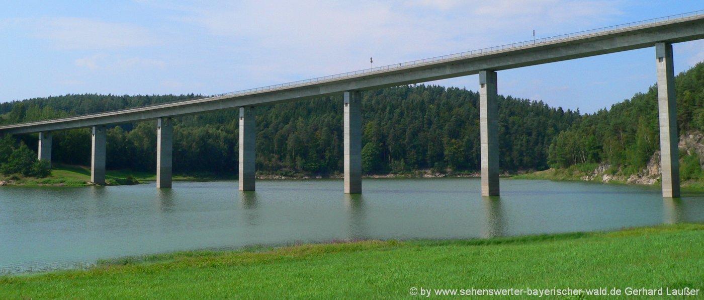 Eixendorfer Stausee bei Neunburg vorm Wald Ausflugsziele und Freizeittipps