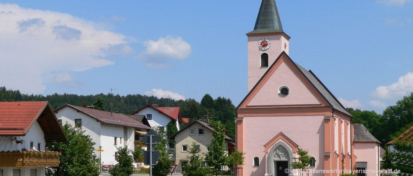 eppenschlag-sehenswürdigkeiten-kirche-ort-bayerischer-wald
