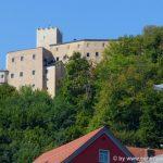 Bayerischer Wald Sehenswürdigkeiten Burg Falkenstein in der Oberpfalz