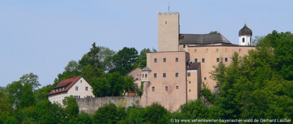 Burg Falkenstein in der Oberpfalz Ritterburg in Bayern