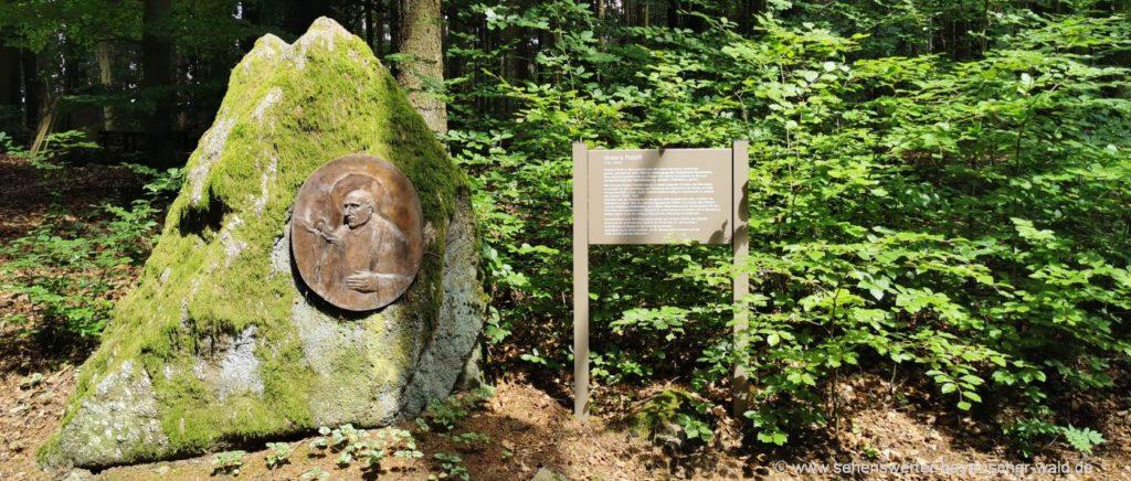 Vinzenz Pallotti Rundweg beim Kloster Hofstetten bei Falkenstein