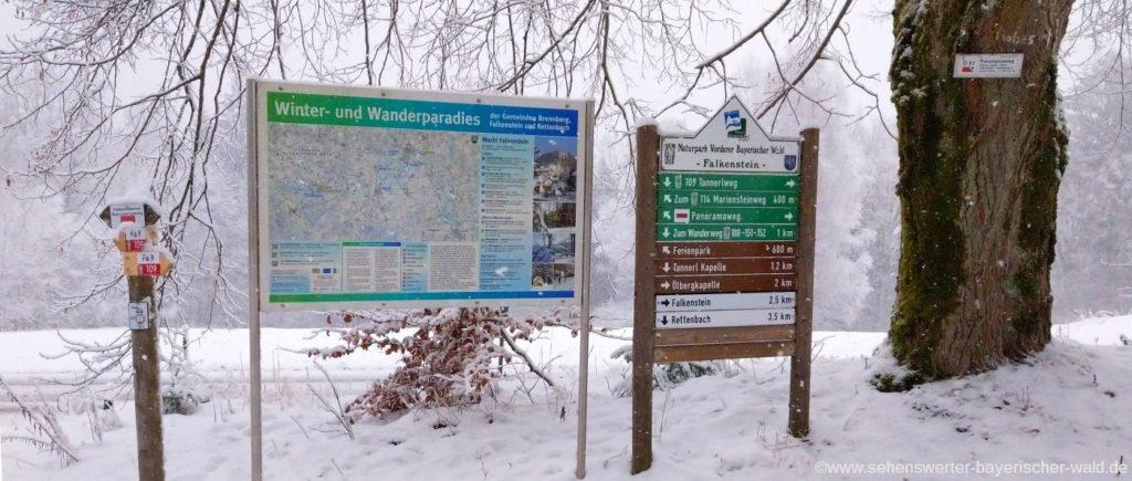 alternativer Ausgangspunkt der Wanderung Wanderparkplatz am Hohen Kreuz Wanderkarte