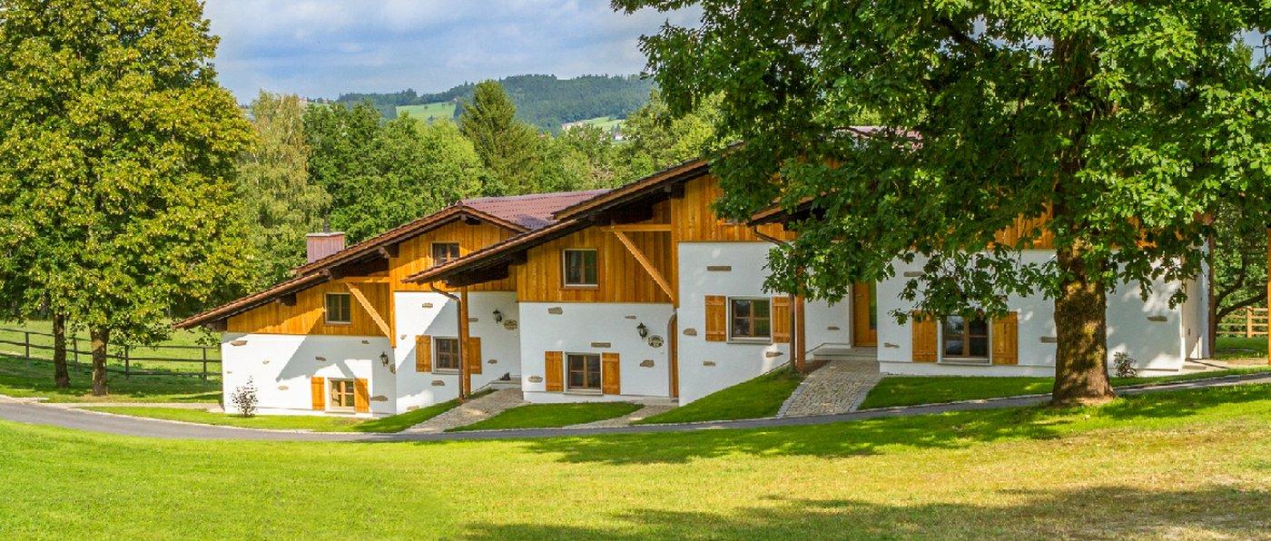 Bayerischer Wald Reiturlaub mit Hund und Kind in Bayern