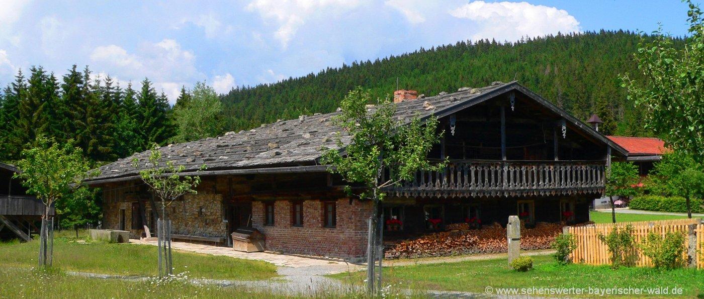 Sehenswürdigkeiten in Finsterau Ausflugsziele & Freilichtmuseum