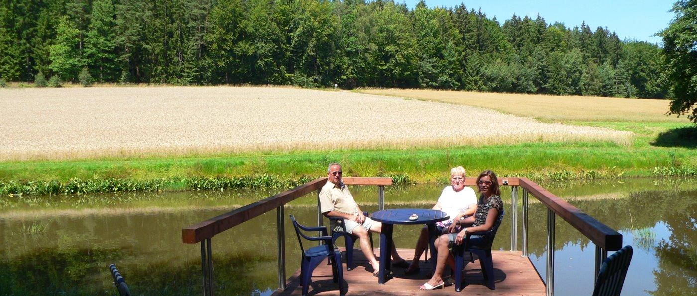 Ferienwohnung Fleischmann in Roding Angelurlaub am Fluss Regen