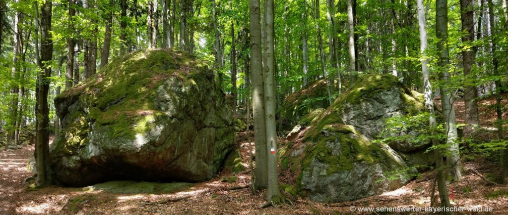 furth-bayerischer-wald-lixenrieder-felsenlabyrinth-steinformationen