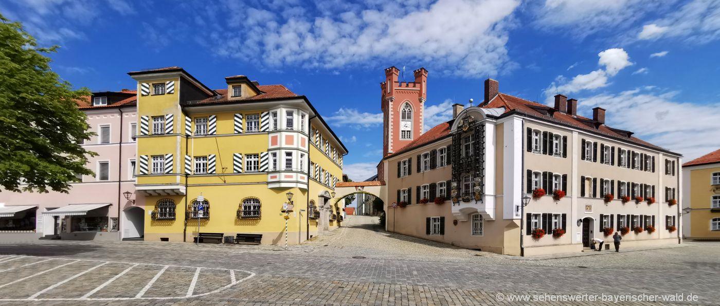 Sehenswürdigkeiten Furth im Wald Wahrzeichen Stadtturm