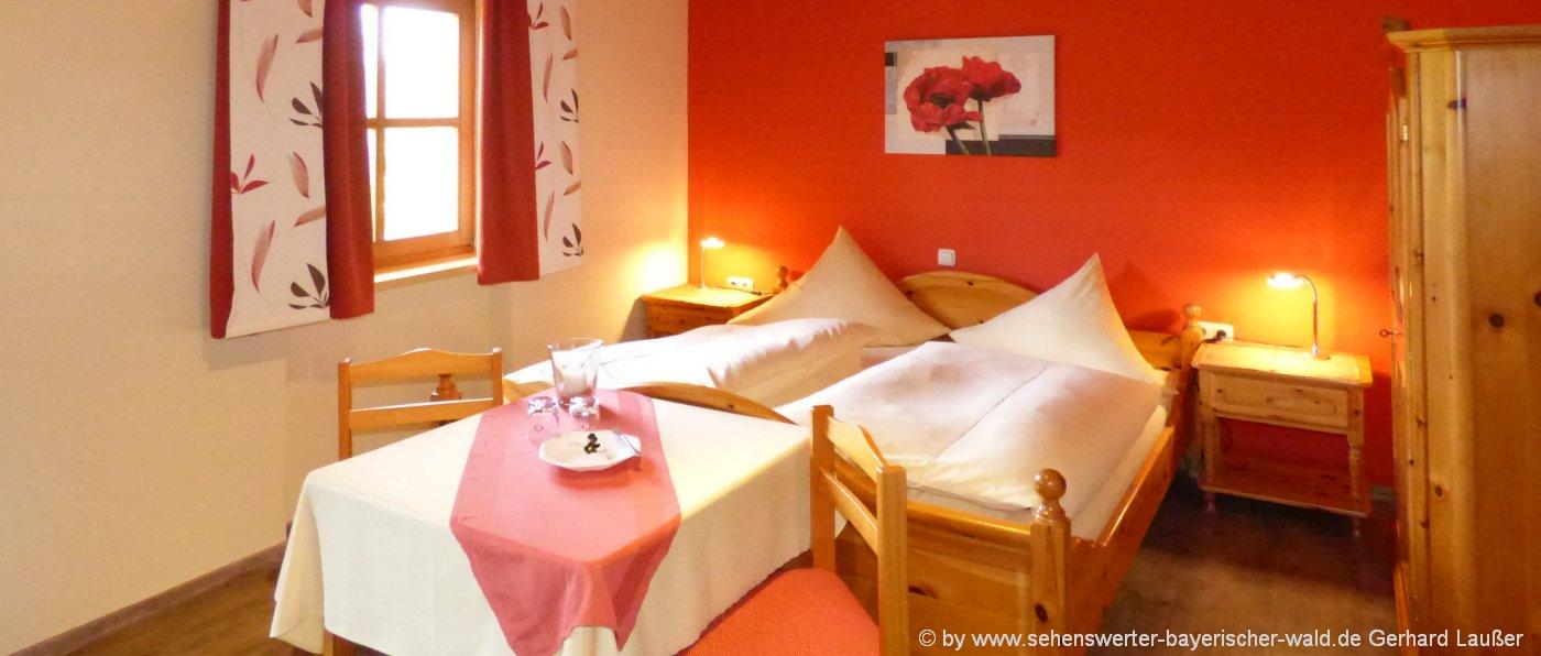 gasthof-bayerischer-wald-zimmer mit frühstück übernachtung