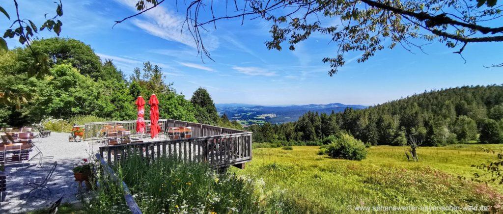 Aussichtspunkt, Ausflugslokal und Berggasthof Landshuter Haus