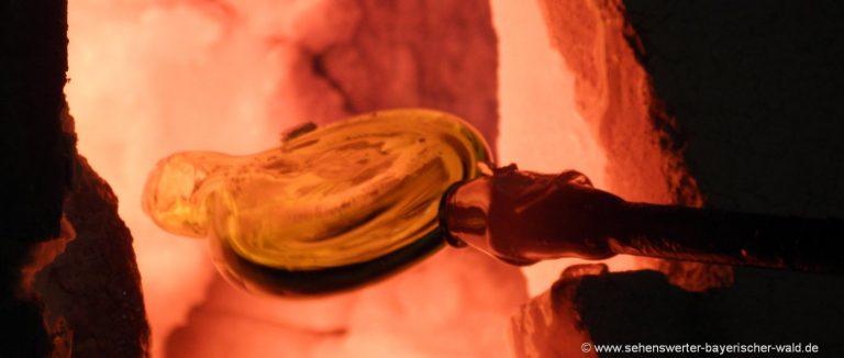 glasbläserei-bayerischer-wald-selber-glasblasen-glashütten-führung
