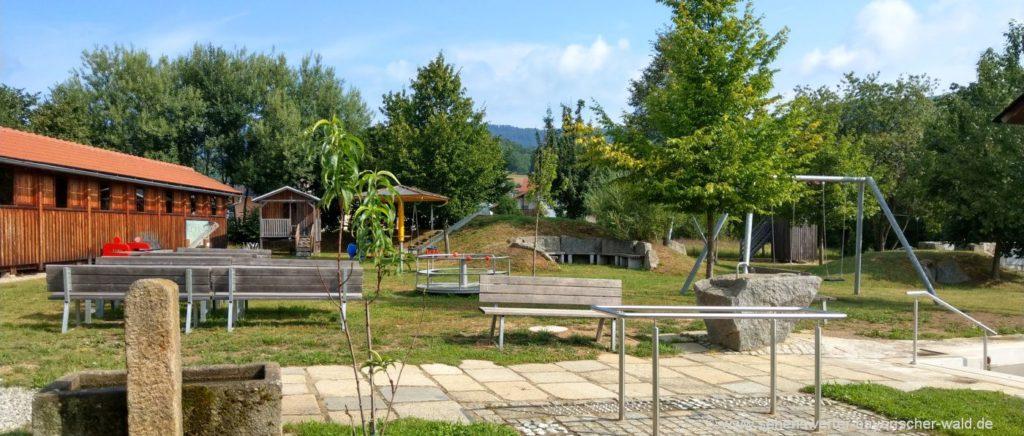 Sehenswürdigkeiten Gleissenberg Meranpark Spielplatz und Ausflugsziel