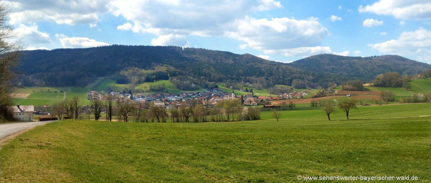 Gleissenberg Ausgangspunkt der Wanderung zum Burgstall
