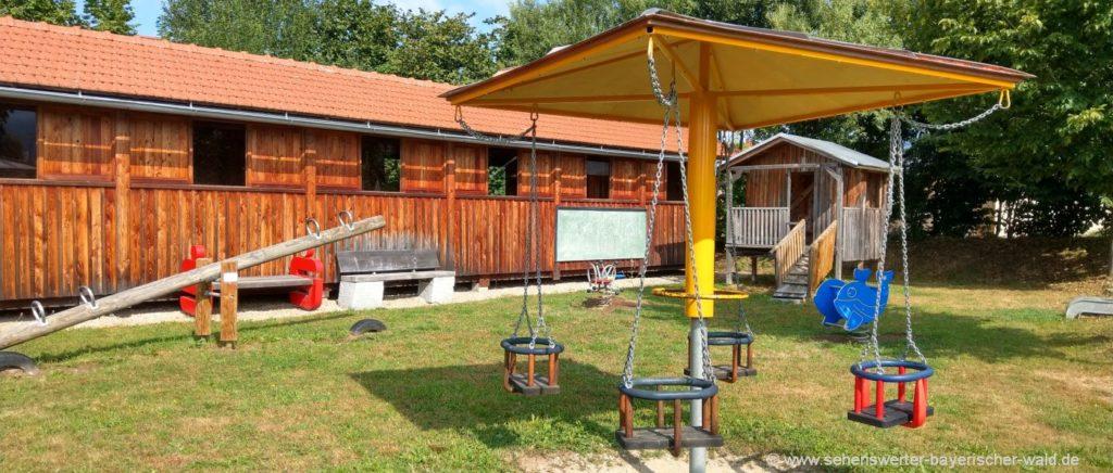 Gleißenberg Meranpark der Abenteuerspielplatz mit vilen Attraktionen