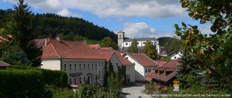 gotteszell-wanderung-vogelsang-bayerischer-wald-dorfansicht