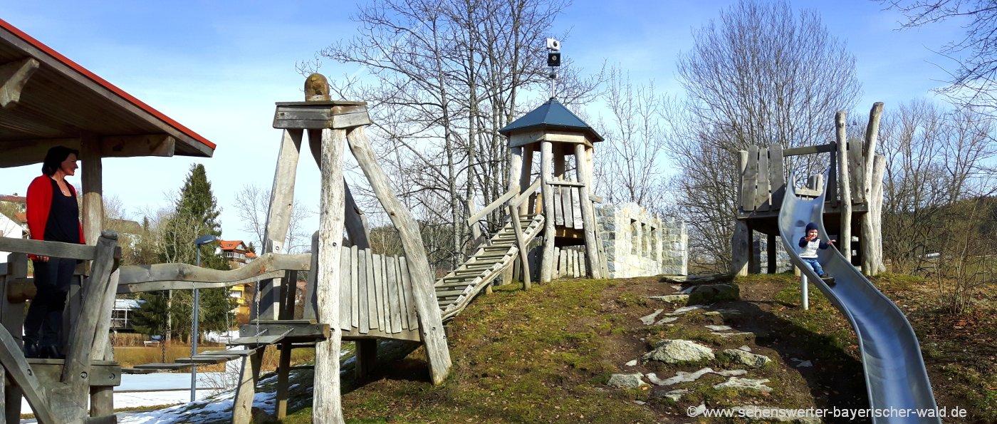 grafenau-kurpark-kinderspielplatz-freizeitangebote-bäreal