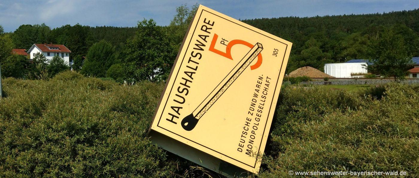 grafenwiesen-zündholzmuseum-bayerischer-wald-streichholzmuseum-bayern