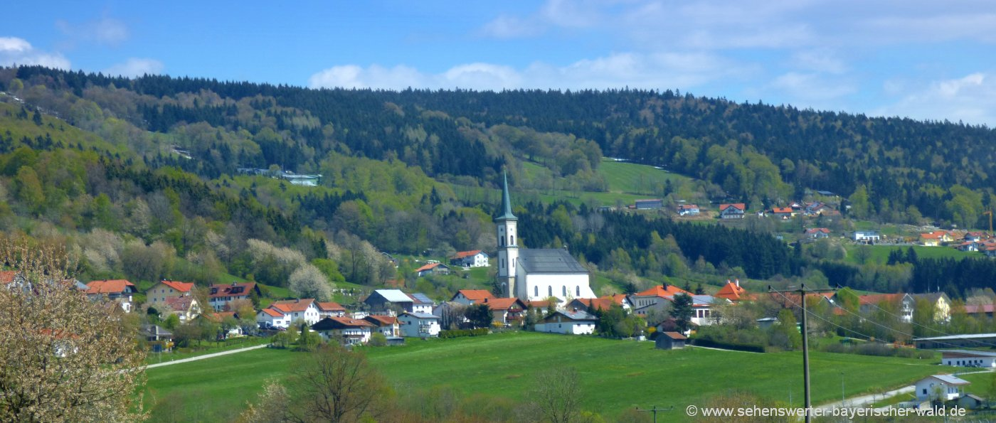 Sehenswürdigkeiten in Grainet Bayerischer Wald