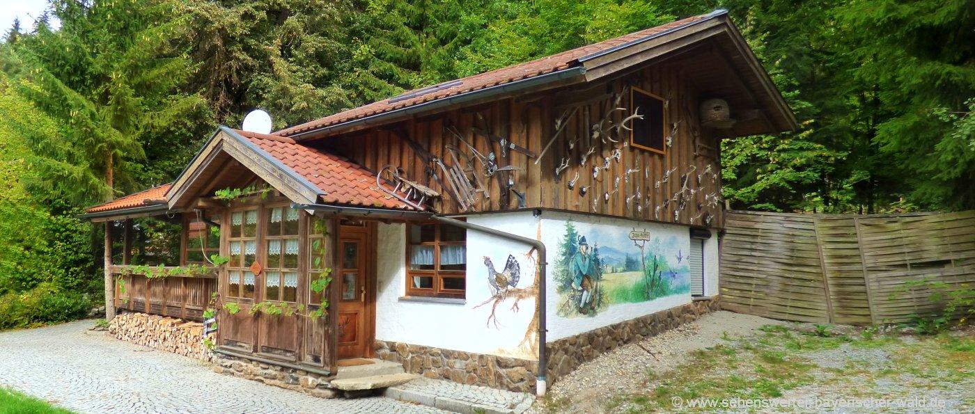 Schöne Gruppenunterkünfte in Bayern Selbstversorger Ferienhaus in Deutschland