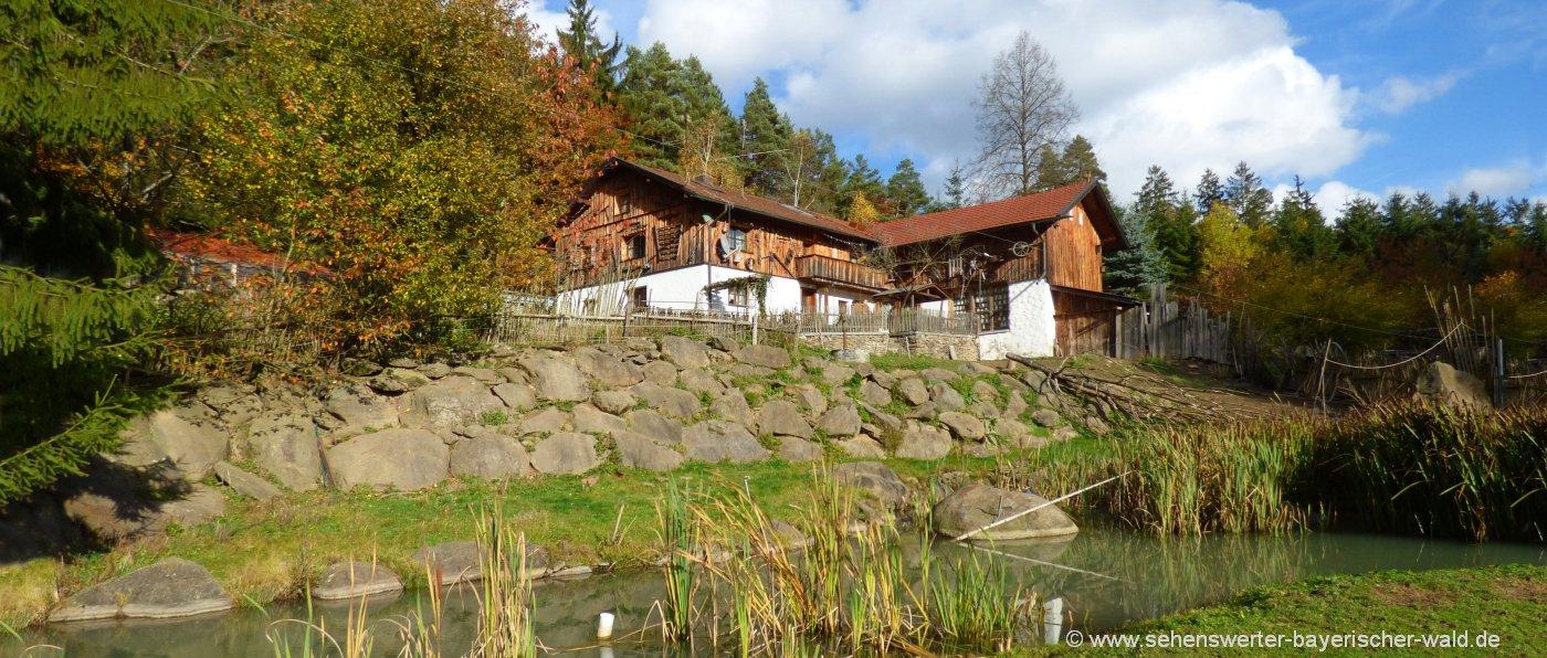 Häuser für Gruppenfreizeiten in Deutschland Unterkunft in Bayern