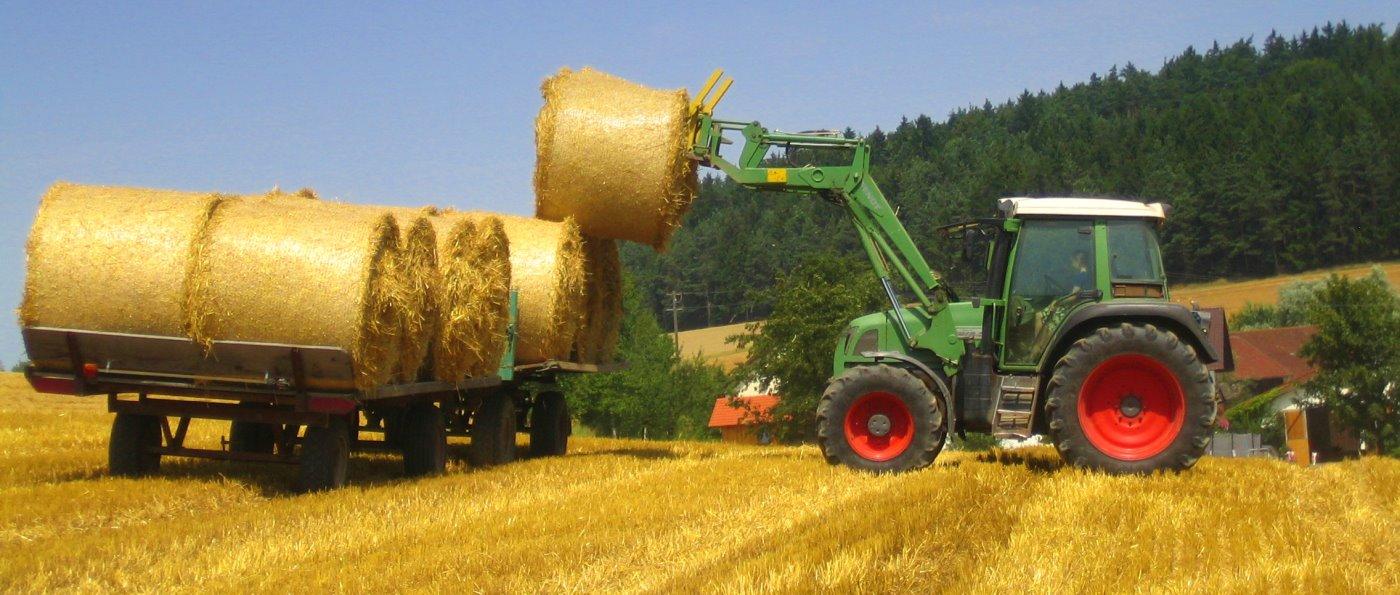 Ferienhaus in Michelsneukirchen Bauernhof Urlaub Traktor fahren