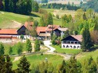 Urlaub mit Hund am Bauernhof Gut Feuerschwendt Ansicht Hotelanlage