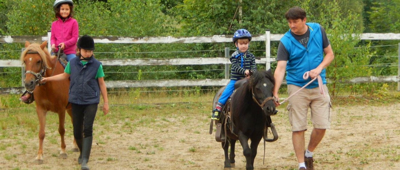 Bayerischer Wald Bauernhofurlaub mit Ponyreiten und Kinder Spielplatz
