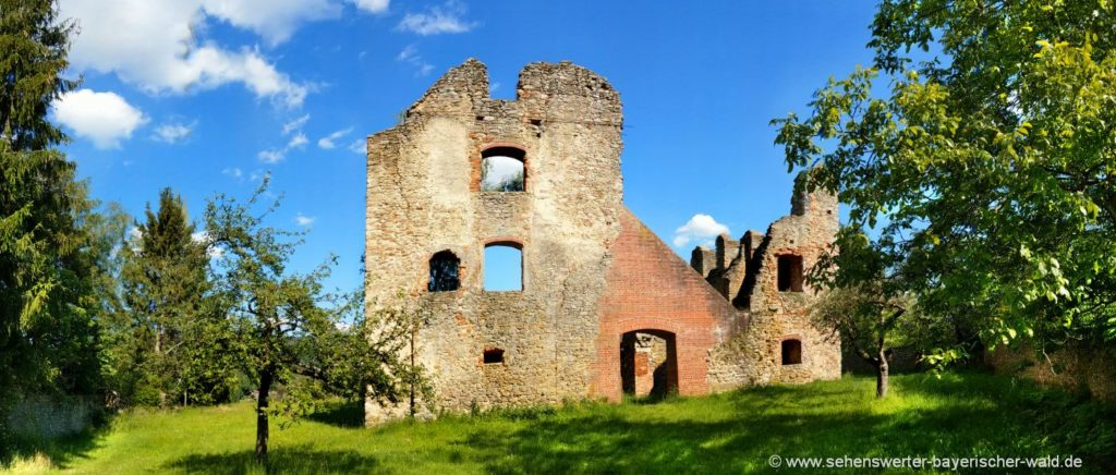 haibach-burgruine-sehenswürdigkeiten-geschichtslehrpfad