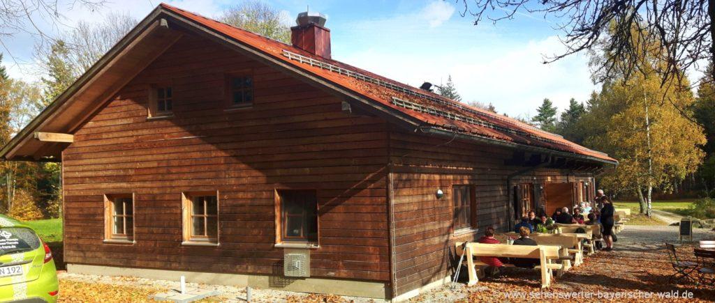 Wanderung zum Haidstein Berghütte und Ausflugsgasthof