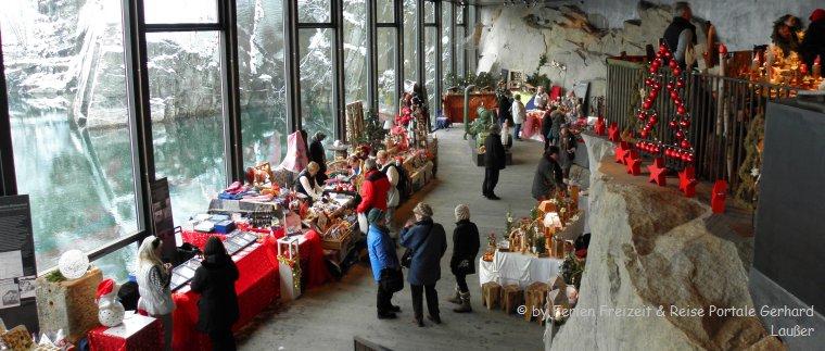 Hauzenberger Weihnachtsmarkt im Steinbruch Ausstellung