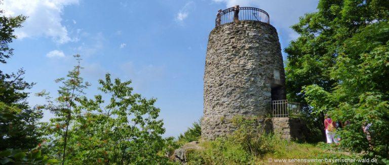 hirschenstein-aussichtsturm-wanderwege-niederbayern-ausflugsziele